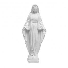 'Mary' White Marble Figurine