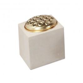 York Stone Cube Vase